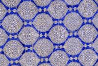 Ceramic tiles, I-Khauli court, Tash Khauli Palace, Khiva, Uzbekistan, Central Asia