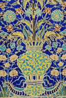 Ceramic detail, Nadir Divanbegi madressa, Bukhara, Uzbekistan, Central Asia 20062020791| 写真素材・ストックフォト・画像・イラスト素材|アマナイメージズ