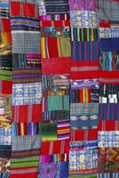 Patchwork quilt, San Antonio Aguas Calientes, Guatemala, Central America 20062020940| 写真素材・ストックフォト・画像・イラスト素材|アマナイメージズ