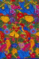 Huipil cloth pattern, Guatemala, Central America 20062020953| 写真素材・ストックフォト・画像・イラスト素材|アマナイメージズ