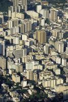 Aerial view of skyscrapers in Centro (downtown), Rio de Janeiro, Brazil, South America 20062021021  写真素材・ストックフォト・画像・イラスト素材 アマナイメージズ