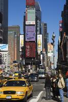 Times Square, Manhattan, New York City, New York, United States of America, North America 20062021586| 写真素材・ストックフォト・画像・イラスト素材|アマナイメージズ