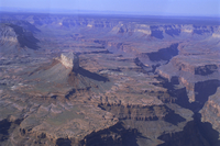 Aerial view of the South Rim, Grand Canyon, Grand Canyon National Park, UNESCO World Heritage Site, Arizona, USA, North America