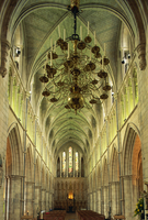 Interior of Southwark Cathedral, Southwark, south London, England, United Kingdom, Europe