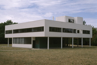 Villa Savoye, Poissy, France, Architect Le Corbusier