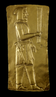 Gold plaque from the Oxus treasure