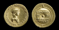 Gold aurei of Nero (AD 51-54)