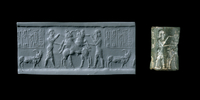 This seal dates to a time when much of Mesopotamia was unite