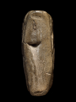 Proto-Elamite clay tablet with five characters on one side a 20065000371| 写真素材・ストックフォト・画像・イラスト素材|アマナイメージズ