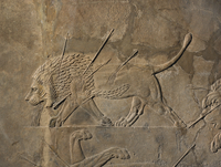 Stone panels from the North Palace of Ashurbanipal