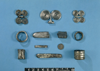 This group of silver objects is probably the most important