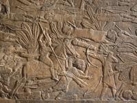 Limestone wall panel, Neo-Assyrian
