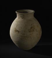 Squat pottery jar, Neo-Assyrian 20065000599| 写真素材・ストックフォト・画像・イラスト素材|アマナイメージズ
