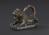 Copper alloy lion-shaped measuring-weight, Neo-Assyian