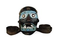 Mosaic skull of Tezcatlipoca. Aztec, Mexico .