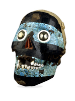 Mosaic skull of Tezcatlipoca 20065000774| 写真素材・ストックフォト・画像・イラスト素材|アマナイメージズ