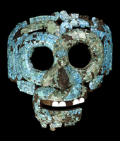 Mosaic mask of Quetzalcoatl