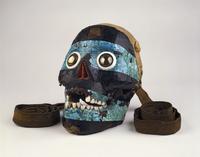Mosaic skull of Tezcatlipoca 20065000929| 写真素材・ストックフォト・画像・イラスト素材|アマナイメージズ