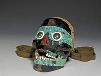 Mosaic skull of Tezcatlipoca 20065000948| 写真素材・ストックフォト・画像・イラスト素材|アマナイメージズ