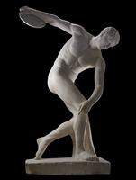 The Townley Discobolus, Roman