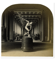 Roger Fenton, The Discus-thrower (Discobolus), a photograph