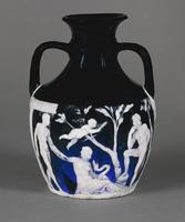 The Portland Vase. Roman. 1 - 25 AD
