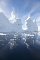 Icebergs off the Antarctic Peninsula, Antarctica, February 2