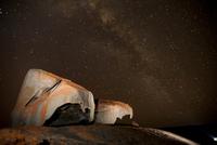 Remarkable Rocks at night, Flinders Chase National Park, Kan 20070001943| 写真素材・ストックフォト・画像・イラスト素材|アマナイメージズ