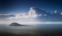 View towards Bardsey Island / Ynys Enlli, Aberdaron, Gwynedd