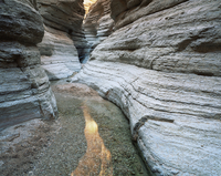Sinous banded narrows of Matkatamiba Canyon, Grand Canyon NP, Arizona, USA