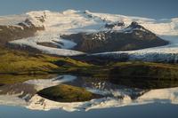 Hrutarjokull glacier, Vatnajokull ice cap. Iceland.June 2008