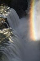 The Gullfoss waterfall. Iceland.June 2008