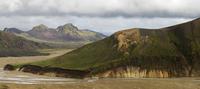 Rhyolite mountains at Landmannalaugar. Iceland.August 2008