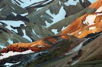 Rhiolite mountains. Landmannalaugar, Iceland. June 2008