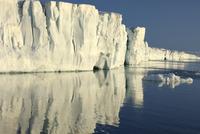 Ice cliffs, Svalbard, Norway, August 2007