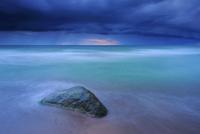 バルト海と岩の風景