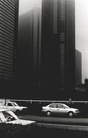 Cars and towerblocks