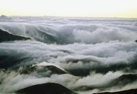 Volcano Maui at dawn