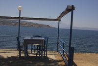 Taverna next to sea