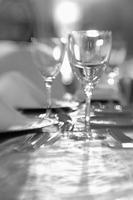 Table setting inside a wedding hall dinner 20071009753| 写真素材・ストックフォト・画像・イラスト素材|アマナイメージズ