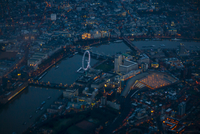 Aerial view of cityscape. London, England, United Kingdom