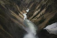River through canyon. Italy