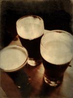 Still life of three pints of beer 20071011284| 写真素材・ストックフォト・画像・イラスト素材|アマナイメージズ