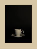 Still life of a tea cup