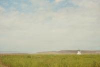Painterly teepee in the prairie. U.S.A  20071011580| 写真素材・ストックフォト・画像・イラスト素材|アマナイメージズ