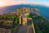 Gunkanjima: from the top of the island