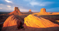 red buttes and mesas