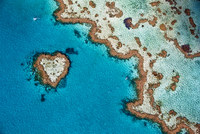 coral reef from the air 20074000130| 写真素材・ストックフォト・画像・イラスト素材|アマナイメージズ