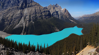 mountains, lake and the trees 20074000233| 写真素材・ストックフォト・画像・イラスト素材|アマナイメージズ