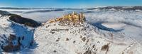castle an the winter